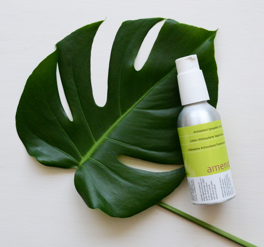 Amend Antioxidant Body Lotion natural after sun lotion for sunburns. Reduce redness and heal a sunburn faster with whole plant nutrition from pomegranate extract.